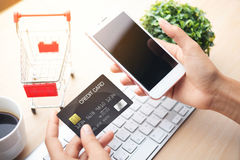Mobile payment , Royalty Free Stock Image