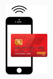 Mobile payment Stock Image