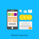 Mobile payment Stock Images