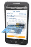 Mobile Payments. Royalty Free Stock Image