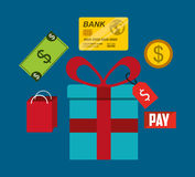 Mobile payments design. Illustration eps10 graphic Stock Image