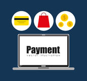 Mobile payments design. Illustration eps10 graphic Stock Photos