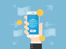 Mobile Payments Stock Images