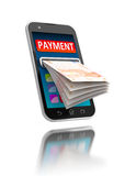 Mobile payments. Stock Photography