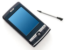 Mobile PC Isolated Stock Images
