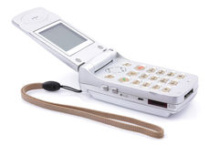 Mobile phone. A mobile phone over white background Royalty Free Stock Images