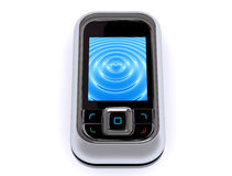 Mobile phone. Pocket phone Stock Photography