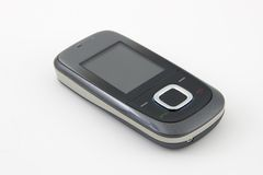Mobile phone. Isolated on white background Stock Images
