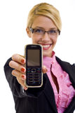 The mobile phone Stock Image