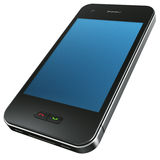Mobile Phone. 3d rendering of a Mobile Phone Stock Photo