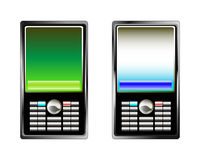 Mobile phone. The newest computer technologies allow to create phones of new generation royalty free illustration