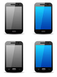 Mobile phone. Vector icon illustration Stock Images