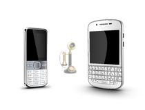 Mobile phone, Royalty Free Stock Images