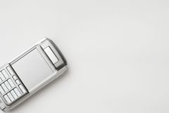 Mobile Phone. For every businessman. Smart phone for succsess people Royalty Free Stock Images
