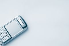 Mobile phone. For every businessman. Smart phone for succsess people Royalty Free Stock Image