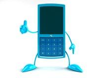 Mobile phone. Fun wireless phone Royalty Free Stock Photos