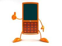 Mobile phone. Fun wireless phone Royalty Free Stock Image
