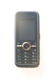 Mobile phone. Black mobile phone on white Stock Photo