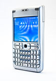Mobile phone. Communicator with full keyboard Royalty Free Stock Images