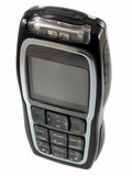 Mobile phone. And macro mode stock photography