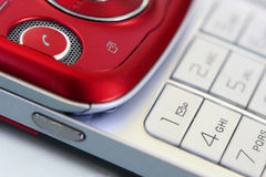 Mobile phone. Close-up of sliding mobile phone