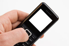 The mobile phone. Royalty Free Stock Image