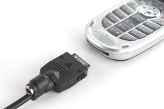 Mobile Phone And Sync Cable