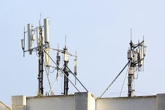 Mobile Phone Antenna Stock Photo