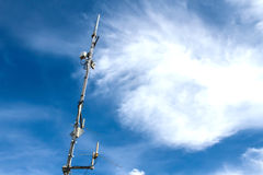 Mobile phone Antenna Stock Images