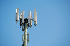 Mobile Phone Antenna Tower Royalty Free Stock Photography