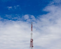 Mobile phone antenna Tower Stock Images