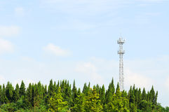 Mobile phone base station Royalty Free Stock Images