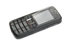 Mobile Phone (black) Royalty Free Stock Photo