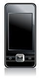 Mobile phone with black screen Royalty Free Stock Photos