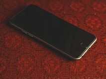 Mobile phone with black screen