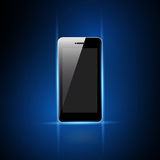 Mobile phone with blank screen Stock Images