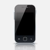 Mobile phone with blank screen, eps 10 Royalty Free Stock Photo