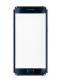Mobile phone with blank screen. Stock Photo