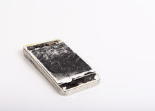 Mobile phone broken Stock Photography