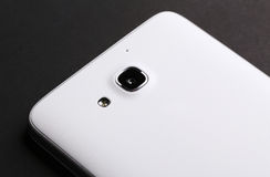 Mobile Phone Camera. View of mobile phone camera Stock Images