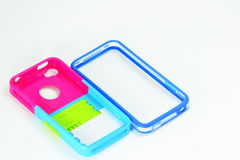 Smart phone case Stock Photos