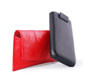 Mobile phone cases Stock Image