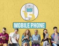 Free Mobile Phone Cellphone Cellular Communicate Concept Stock Photography - 85879942