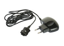 Mobile phone charger Stock Photography
