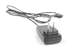 Mobile phone charger Stock Image