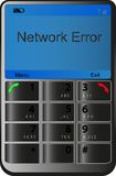 Mobile phone. With classic keypad Stock Photography