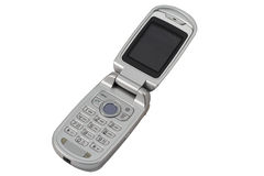 Mobile Phone with clipping path. Royalty Free Stock Images