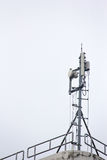 Mobile phone communication repeater antenna tower Royalty Free Stock Photos