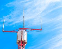 Mobile phone communication repeater antenna Stock Photography