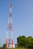 Mobile phone communication tower Stock Images